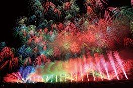 【2020年開催なし】市川三郷町ふるさと夏まつり 「第31回神明の花火大会」