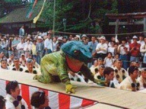 蓮華会・蛙飛び行事
