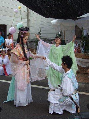奴奈川姫と大ウス祭り