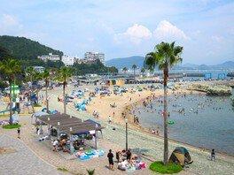 【海水浴】浪早ビーチ