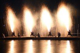 川上峡花火大会