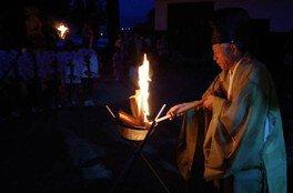 郡神社の火まつり