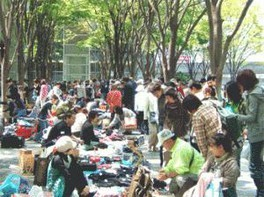 さいたま新都心「けやき広場」フリーマーケット(9月)