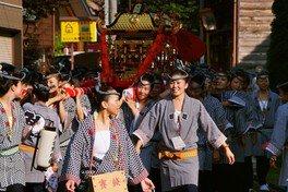 女神輿(熊野三社祭り)<中止となりました>