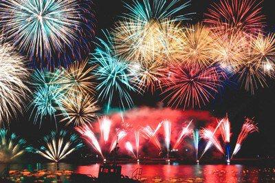 2019江の川祭 花火大会