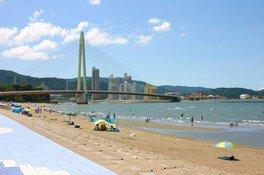【海水浴】浜の宮ビーチ