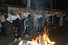 角間川盆踊り大会