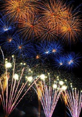 第70回五所川原花火大会 水と光と音の祭典