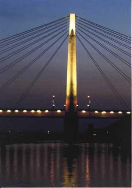 有田中央大橋 年末年始ライトアップ