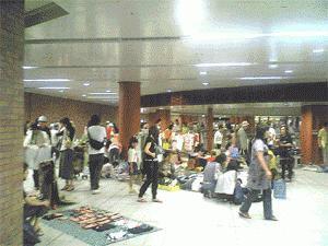 駅ナカフリマ in 馬車道駅(4月)
