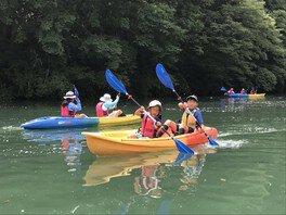 大自然の湖を探検!おにしカヌーキャンプ(夏休み・2泊3日)