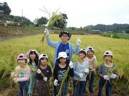 ヤックス自然学校「第43回サマーキャンプ:稲刈り&ドラム缶風呂」