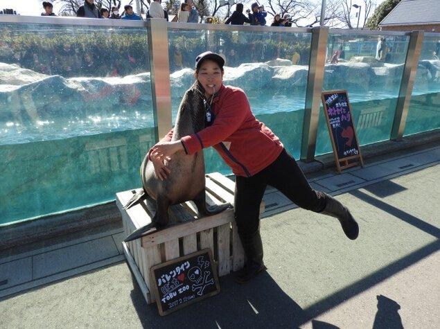 東武動物公園のクリスマスイベント