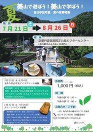 京都美山ストーンペイント体験