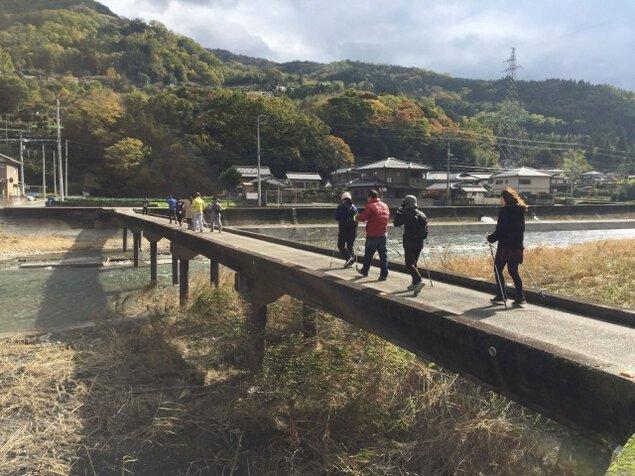 貞光川健康ウォーク~木綿麻の郷に吹く風~(5月)