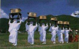 阿蘇神社 おんだ祭り