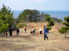 高津子山を桜の山に(9月)