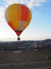 2019松島熱気球体験搭乗会