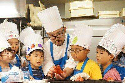 T&Gキッズプロジェクト2019 食育プログラム~ベイサイド迎賓館(松山)~