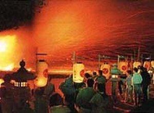 弓削の火祭り<中止となりました>