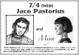 A Story of Jazz in 横浜 Jaco Pastorius