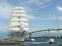 2018帆船海王丸総帆展帆(10月)