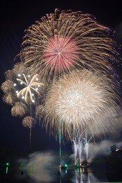 【2020年開催なし】亀山湖上祭・君津市民花火大会