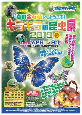 夏の特別展 キラキラの昆虫展2019