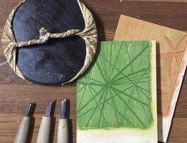 木版画体験ワークショップ