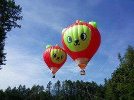 アルクマ熱気球係留飛行体験