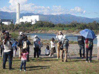県立相模三川公園 自然観察園オープン記念「野鳥観察会」