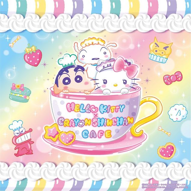 HELLO KITTY × CRAYON SHINCHAN CAFE(名古屋)