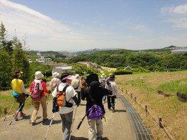 神戸総合運動公園 ノルディックウォーキング(5月)