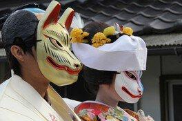 稲穂祭(きつねの嫁入り)