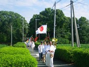 江見八幡神社境内