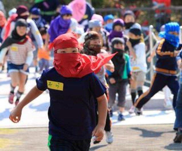 みんなで忍者~神戸総合運動公園の巻~