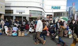 調布駅前広場キッズフリマ(5月)