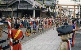 正院の秋祭り