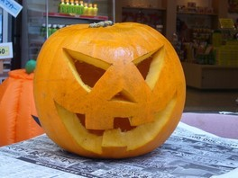 お化けかぼちゃを作ろう!