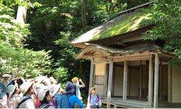 国上山エコトレッキングツアー「国上山の歴史と文化、そして自然」