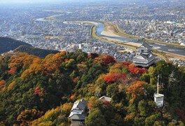金華山ロープウェー・岐阜城の紅葉