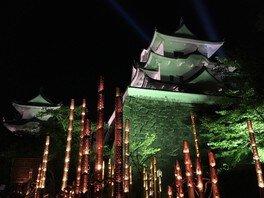 ライトアップイベント「お城のまわり」