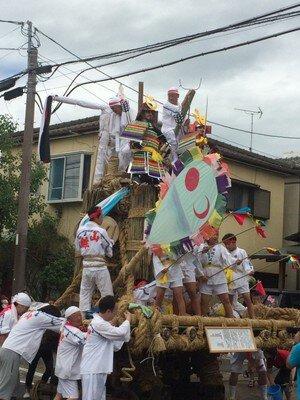 小城祇園夏祭り(山挽祇園)