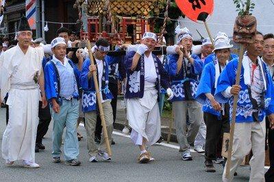 鞍岡祇園神社夏季例大祭