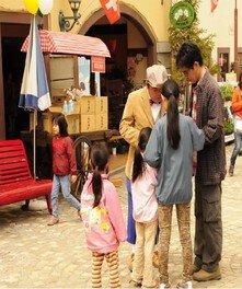 ハイジの村 スタンプラリー