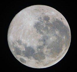 スターウォッチング「十三夜の月 前夜」