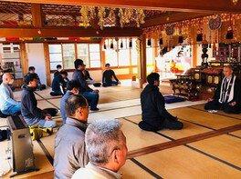 岩屋寺 坐禅(阿字観)体験(6月)