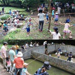 水辺公園夏遊び