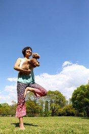 愛犬と一緒にドッグヨガ(5月)