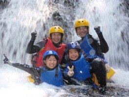 キャニオンアドベンチャー「体験キャニオン」碓氷軽井沢 アウトドア自然体験ツアー